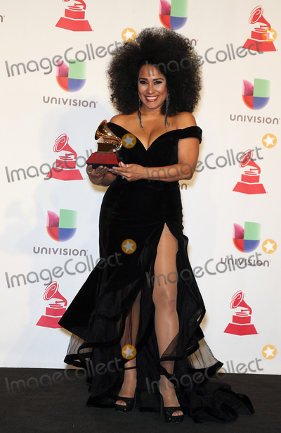 Aymee Nuviola Photo - 15 November 2018 - Las Vegas NV -  Aymee Nuviola  19th Annual Latin GRAMMY Awards at the MGM Grand Garden Arena- Photo Room Photo Credit MJTAdMedia