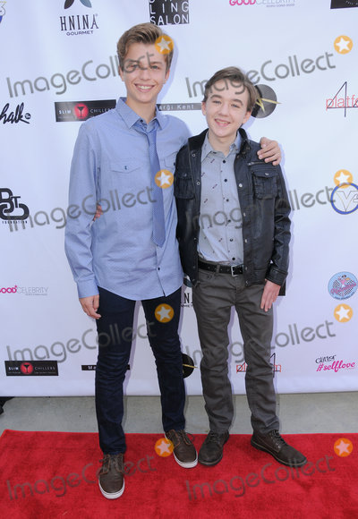 Benjamin Stockham Photo - 16 October 2016 - Beverly Hills California Jacob Hopkins Benjamin Stockham Breaking The Chains Foundation And Glitter Magazine First Annual Fall Reception held at a Private Residence in Beverly Hills Photo Credit Birdie ThompsonAdMedia