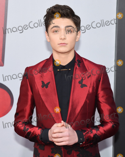 Asher Angel Photo - 28 March 2019 - Hollywood California - Asher Angel Warner Bros Pictures and New Line Cinema World Premiere of SHAZAM held at TCL Chinese Theatre Photo Credit Billy BennightAdMedia