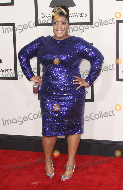 Anita Wilson Photo - 08 February 2015 - Los Angeles California - Anita Wilson 57th Annual GRAMMY Awards held at the Staples Center Photo Credit AdMedia