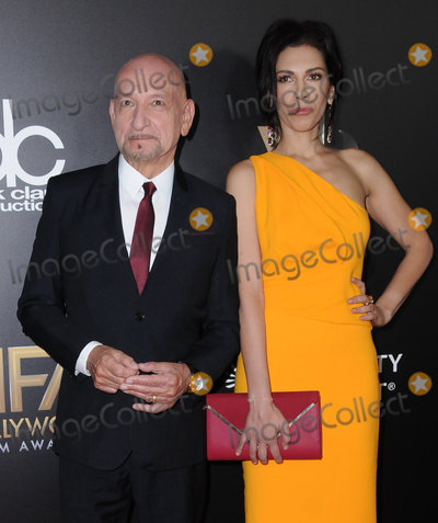 Ben Kingsley Photo - 06 November 2016 - Beverly Hills California Ben Kingsley Daniela Lavender 20th Annual Hollywood Film Awards held at Beverly Hilton Hotel Photo Credit Birdie ThompsonAdMedia