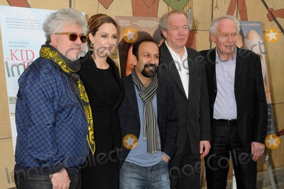 Asghar Farhadi Photo - 14 January 2012 - Hollywood California - Pedro Almodovar Angelina Jolie Asghar Farhadi Luc Dardenne and Jean-Pierre Dardenne American Cinematheque 69th Annual Golden Globe Awards Foreign-Language Nominee Directors Panel held at the Egyptian Theatre Photo Credit Byron PurvisAdMedia