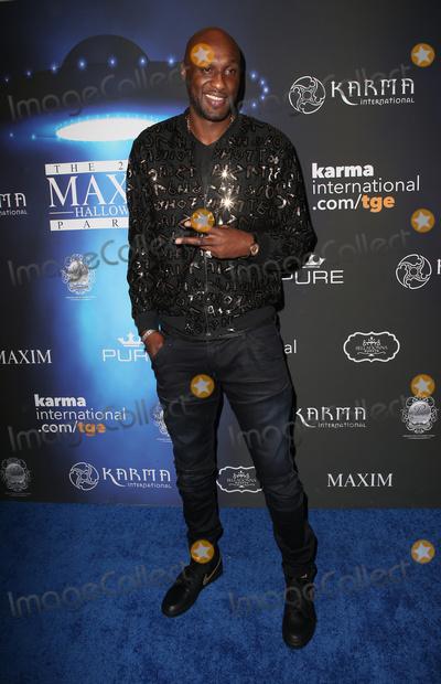 Lamar Odom Photo - 21 October 2017 - Los Angeles California - Lamar Odom 2017 MAXIM Halloween Party held at Los Angeles Center Studios Photo Credit F SadouAdMedia