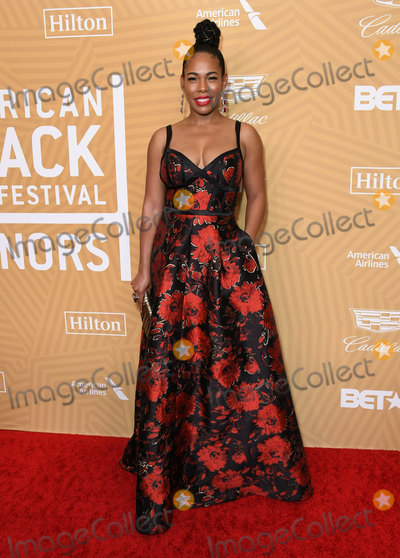Angela Lewis Photo - 23 February 2020 - Beverly Hills California - Angela Lewis American Black Film Festival Honors Awards Ceremony held at the Beverly Hilton Hotel Photo Credit Birdie ThompsonAdMedia