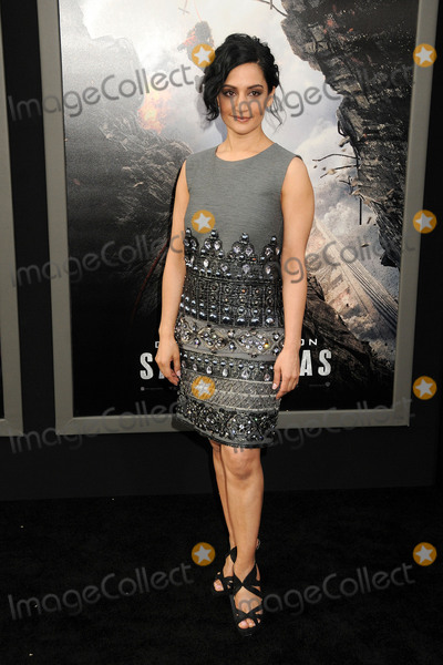 Archie Panjabi Photo - 26 May 2015 - Hollywood California - Archie Panjabi San Andreas Los Angeles Premiere held at the TCL Chinese Theatre Photo Credit Byron PurvisAdMedia