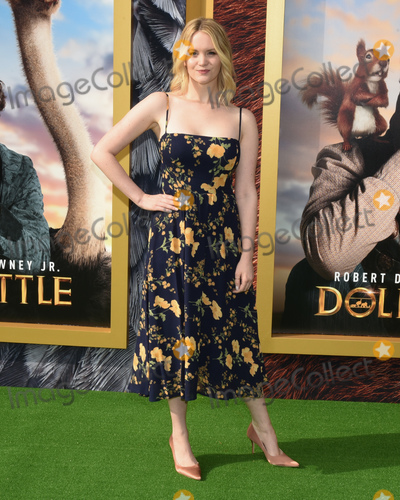 Anna Lundberg Photo - 11 January 2020 - Westwood California - Anna Lundberg Premiere Of Universal Pictures Dolittle held at the Regency Village Theatre Photo Credit Billy BennightAdMedia