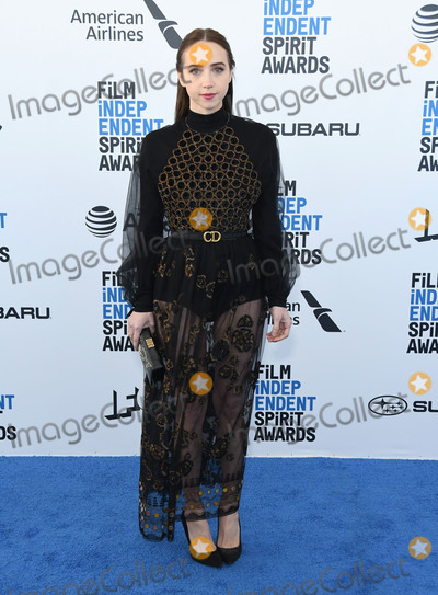 Zoe Kazan Photo - 23 February 2019 - Santa Monica California - Zoe Kazan 2019 Film Independent Spirit Awards - Arrivals held at the Santa Monica Pier Photo Credit Birdie ThompsonAdMedia