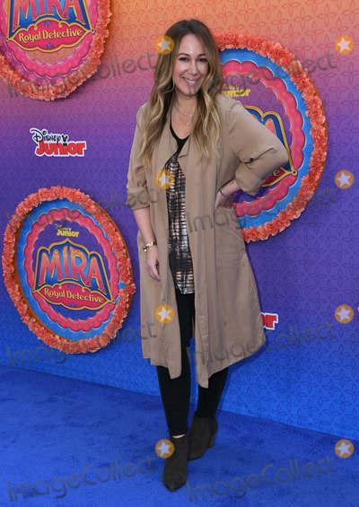 Haylie Duff Photo - 07 March 2020 - Burbank California - Haylie Duff Disney Juniors Mira Royal Detective Los Angeles Premiere held at Walt Disney Studios Photo Credit Birdie ThompsonAdMedia