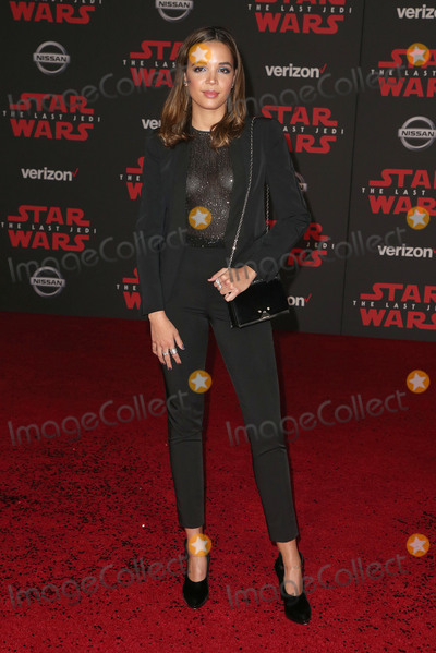 Georgi Photo - 09 December 2017 - Los Angeles California - Georgie Flores Premiere Of Disney Pictures And Lucasfilms Star Wars The Last Jedi held at The Shrine Auditorium Photo Credit F SadouAdMedia