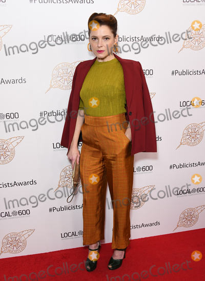 Amy Seimetz Photo - 22 February 2019 - Beverly Hills California - Amy Seimetz The 56th Annual Publicists Awards Luncheon held at the Beverly Hilton Hotel Photo Credit Birdie ThompsonAdMedia