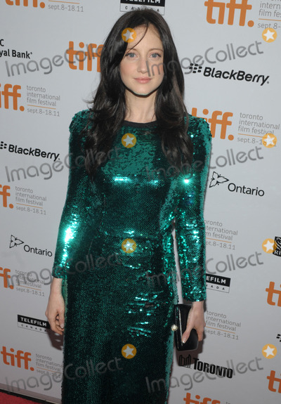Andrea Riseborough Photo - 12 September 2011 - Toronto Ontario Canada - Andrea Riseborough WE Premiere  - 2011 Toronto International Film Festival held at  Roy Thomson Hall Photo Credit Brent PerniacAdMedia