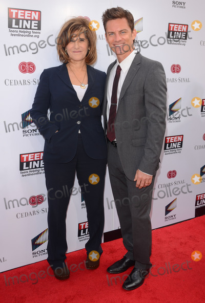Brandon Johnson Photo - 07 May 2014 - Culver City California - Amy Pascal Brandon Johnson TEEN LINE 2014 Food for Thought luncheon held at Sony Pictures Studios in Culver City Ca Photo Credit Birdie ThompsonAdMedia