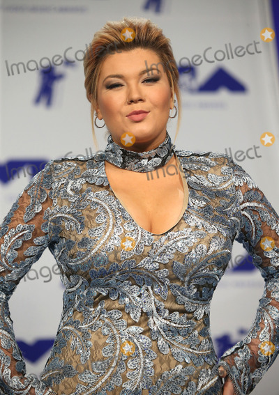 Amber Portwood Photo - 27 August 2017 - Los Angeles California - Amber Portwood 2017 MTV Video Music Awards held at The Forum Photo Credit F SadouAdMedia