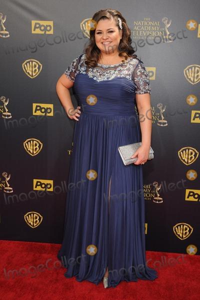 Angelica McDaniel Photo - 26 April 2015 - Burbank California - Angelica Mcdaniel The 42nd Annual Daytime Emmy Awards - Arrivals held at Warner Bros Studios Photo Credit Byron PurvisAdMedia