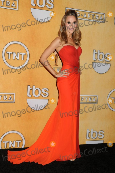 Danielle Demski Photo - 18 January 2014 - Los Angeles California - Danielle Demski 20th Annual Screen Actors Guild Awards - Press Room held at The Shrine Auditorium Photo Credit Byron PurvisAdMedia