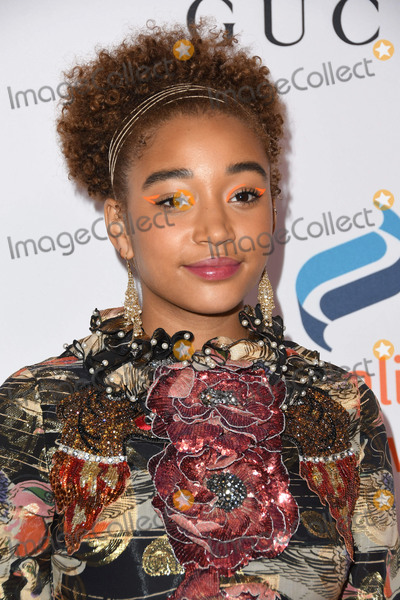 Amandla Stenberg Photo - 03 December 2018 - Beverly Hills California - Amandla Stenberg Equality Nows 4th Annual Make Equality Reality Gala held at The Beverly Hilton Hotel Photo Credit Birdie ThompsonAdMedia