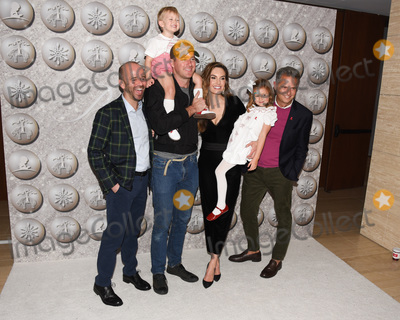 Armande Alta Photo - 07 December 2019 - Hollywood California - (L-R) Fisher Pence Ford Armand Douglas Hammer Elizabeth Chambers Harper Grace Hammer and Arthur Wayne Brooks Brothers Host Annual Holiday Celebration in West Hollywood to Benefit St Jude Photo Credit Billy BennightAdMedia