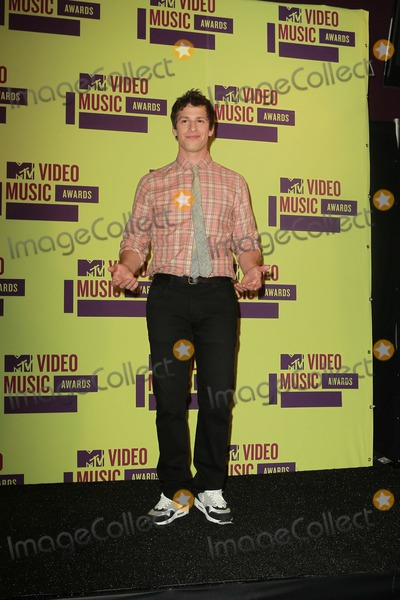 Andy Sandberg Photo - 6 September 2012 - Los Angeles California - Andy Sandberg 2012 MTV Video Music Awards held at Staples Center Photo Credit Kevan BrooksAdMedia