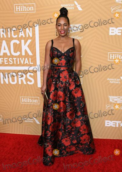 Angela Lewis Photo - 23 February 2020 - Beverly Hills California - Angela Lewis American Black Film Festival Honors Awards Ceremony held at the Beverly Hilton Hotel Photo Credit Birdie ThompsonAdMedia