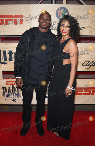 Adrian Peterson Photo - 03 February 2017 - Houston Texas -  Adrian Peterson  ESPN The Party Houston red carpet arrivals Photo Credit MJTAdMedia