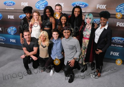 Adanna Duru Photo - 11 March 2015 - West Hollywood California - Quentin Alexander Nick Fradiani Maddie Walker Adanna Duru Jax Clark Beckham Daniel Seavey Sarina-Joi Crowe Rayvon Owen Qaasim Middleton Joey Cook Tyanna Jones American Idol Season 14 Finalists Party held at The District Photo Credit Byron PurvisAdMedia