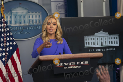Kayleigh McEnany Photo - White House Press Secretary Kayleigh McEnany calls on a reporter as she holds a briefing at the White House in Washington DC on Tuesday December 15 2020Credit Chris Kleponis  Pool via CNP
