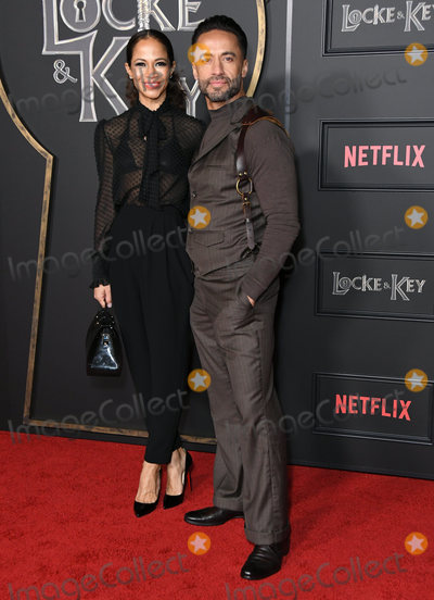 Kamar de los Reyes Photo - 05 February 2020 - Hollywood - Sherri Saum Kamar De Los Reyes Netflixs Locke  Key Series Premiere Photo Call held at The Egyptian Theater Photo Credit Birdie ThompsonAdMedia