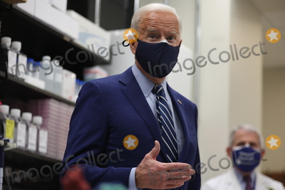 Anthony Fauci Photo - President Joe Biden and Dr Anthony Fauci at the National Institutes of Health on Thursday February 11 2021 in Bethesda MarylandCredit Oliver Contreras  Pool via CNPAdMedia