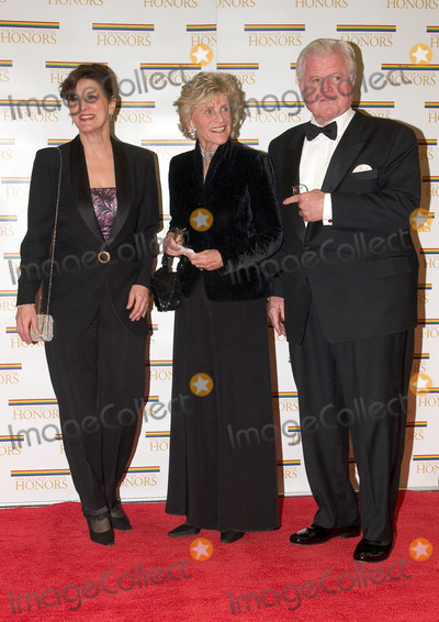 Elton John Photo - United States Senator Edward M (Ted) Kennedy (Democrat of Massachusetts) right his wife Victoria Reggie Kennedy left and sister former United States Ambassador to Ireland Jean Kennedy Smith arrive at the Harry S Truman Building (Department of State) in Washington DC on December 4 2004 for a dinner hosted by United States Secretary of State Colin Powell  At the dinner six performing arts legends will receive the Kennedy Center Honors of 2004  This is the 27th year that the honors have been bestowed on extraordinary individuals whose unique and abundant artistry has contributed significantly to the cultural life of our nation and the world said John F Kennedy Center for the Performing Arts Chairman Stephen A Schwarzman  The award recipients are actor director producer and writer Warren Beatty husband-and-wife actors writers and producers Ossie Davis and Ruby Dee singer and composer Elton John soprano Joan Sutherland and composer and conductor John WilliamsCredit Ron Sachs  CNPAdMedia