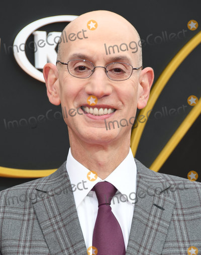 Adam Silver Photo - 24 June 2019 - Santa Monica California - Adam Silver 2019 NBA Awards held at the Barker Hangar Photo Credit Birdie ThompsonAdMedia