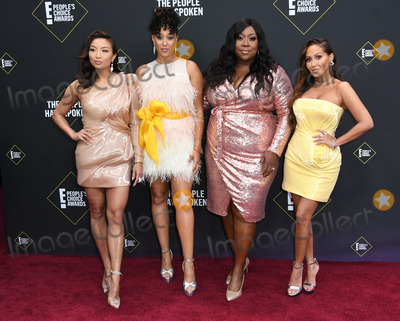 Tamera Mowry Photo - 10 November 2019 - Santa Monica California - Jeannie Mai Tamera Mowry-Housley Loni Love Adrienne Houghton 2019 Peoples Choice Awards held at Barker Hangar Photo Credit Birdie ThompsonAdMedia