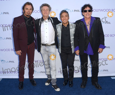 Arnel Pineda Photo - 20 June 2015 - Hollywood California - Jonathan Cain Ross Valory Arnel Pineda Neal Schon Hollywood Bowl opening night featuring Journey held at The Hollywood Bowl Photo Credit Birdie ThompsonAdMedia