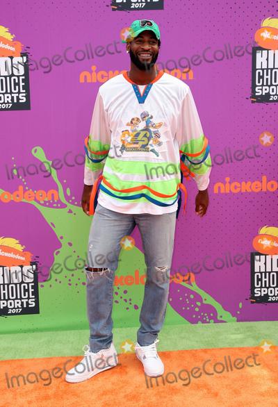 Andre Drummond Photo - 13 July 2017 - Los Angeles California - Andre Drummond Nickelodeon Kids Choice Sports Awards 2017 held at Pauley Pavilion Photo Credit F SadouAdMedia