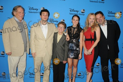 Hayley Orrantia Photo - 4 August 2013 - Beverly Hills California - George Segal Troy Gentile Sean Giambrone Hayley Orrantia Wendi McLendon-Covey Jeff Garlin DisneyABC Summer 2013 TCA Press Tour held at the Beverly Hilton Hotel Photo Credit Byron PurvisAdMedia