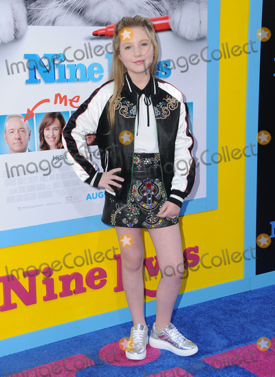 Ella Anderson Photo - 01 August 2016 - Hollywood California Ella Anderson World premiere of Nine Lives held at the TCL Chinese Theatre Photo Credit Birdie ThompsonAdMedia
