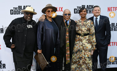 Nicole Avant Photo - 03 June 2019 - Los Angeles California - Cedric the Entertainer Queen Latifah Quincy Jones Nicole Avant Ted Sarandos Netflixs The Black Godfather Los Angeles Premiere held at Paramount Theater Photo Credit Birdie ThompsonAdMedia