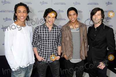Allstar Weekend Photo - 8 February 2011 - Los Angeles California - Allstar Weekend Justin Bieber Never Say Never Los Angeles Premiere held at Nokia Theater LA Live Photo Byron PurvisAdMedia