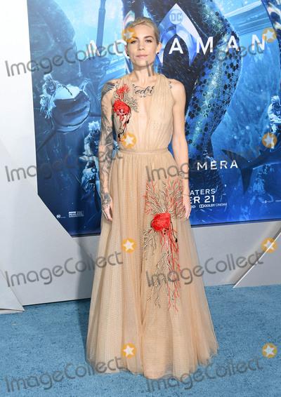 Skyler Grey Photo - 12 December 2018 - Hollywood California - Skyler Grey Aquaman Los Angeles Premiere held at TCL Chinese Theatre Photo Credit Birdie ThompsonAdMedia