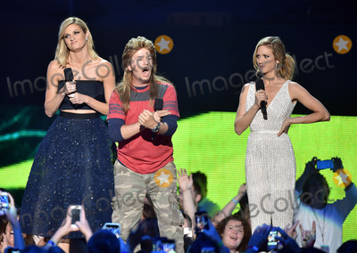 Andrew David Photo - 10 June 2015 - Nashville Tennessee - Erin Andrews David Spade and Brittany Snow 2015 CMT Music Awards held at Bridgestone Arena Photo Credit Laura FarrAdMedia