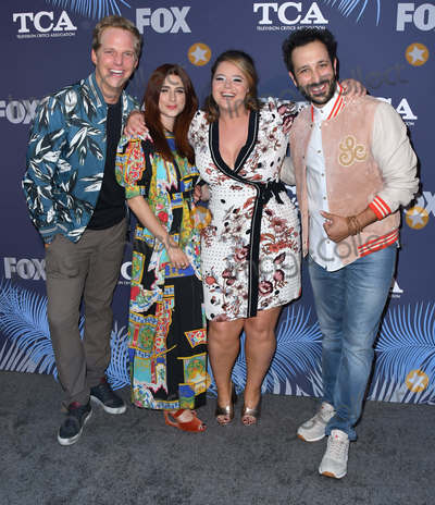 Aya Photo - 02 August 2018 - West Hollywood California - Chris Geere Aya Cash Kether Donohue 2018 FOX Summer TCA held at Soho House Photo Credit Birdie ThompsonAdMedia
