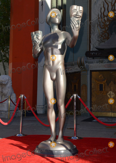 Aldis Hodges Photo - 26 January  - Hollywood Ca - SAG Actor Statue SAG Awards Actor visits Hollywoods TCL Chinese Theater with SAG Awards nominees Aldis Hodge and Neil Brown Jr held at TCL Chinese Theater  Photo Credit Birdie ThompsonAdMedia