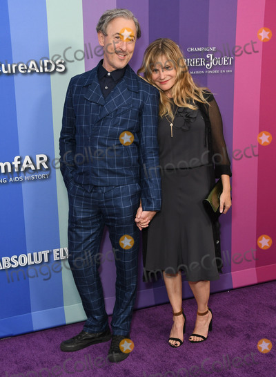 Alan Cummings Photo - 10 October 2019 - Los Angeles California - Alan Cumming Jennifer Jason Leigh 2019 amfAR Gala Los Angeles held at Milk Studios Photo Credit Birdie ThompsonAdMedia