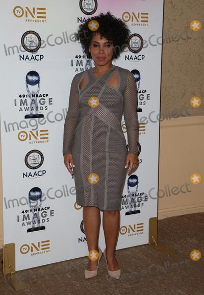 Amirah Vann Photo - 16 December 2017 - Beverly Hills California - Amirah Vann 49th NAACP Image Awards Nominees Luncheon Photo Credit F SadouAdMedia