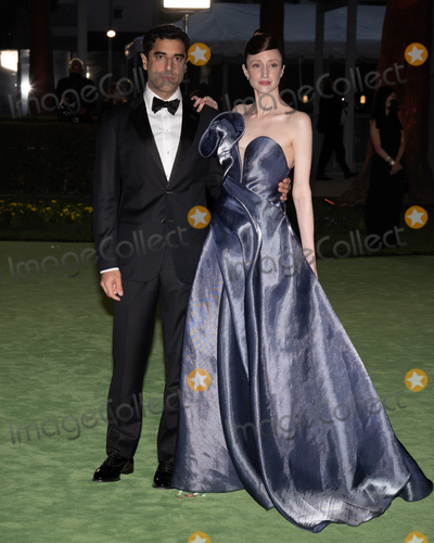 Andrea Riseborough Photo - 25 September 2021 - Los Angeles California - Andrea Riseborough Academy Museum of Motion Pictures Opening Gala held at the Academy Museum of Motion Pictures on Wishire Boulevard Photo Credit Billy BennightAdMedia
