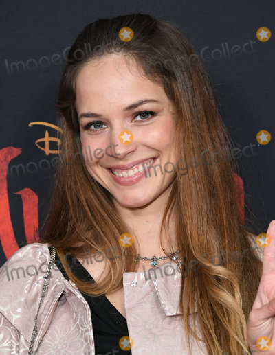 Alexis Knapp Photo - 09 March 2020 - Hollywood California - Alexis Knapp Disneys Mulan Los Angeles Premiere held at Dolby Theater Photo Credit Birdie ThompsonAdMedia