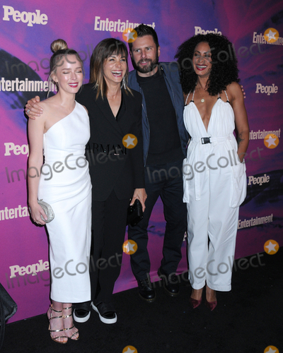 Allison Miller Photo - 13 May 2019 - New York New York - Allison Miller Stephanie Szostak James Roday and Christina Moses at the Entertainment Weekly  People New York Upfronts Celebration at Union Park in Flat Iron Photo Credit LJ FotosAdMedia