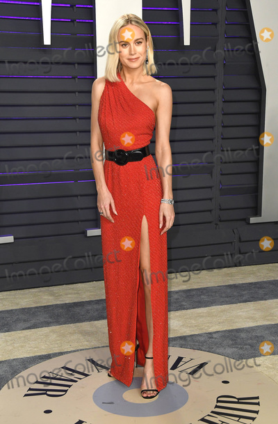 Brie Larson Photo - 24 February 2019 - Los Angeles California -  2019 Vanity Fair Oscar Party following the 91st Academy Awards held at the Wallis Annenberg Center for the Performing Arts Photo Credit Birdie ThompsonAdMedia