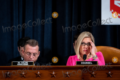 Hurts Photo - Ashley Hurt Callen Republican staff counsel speaks during a US House Judiciary Committee hearing considering articles of impeachment against US President Donald J Trump on Capitol Hill in Washington DC on December 9 2019 US Representative Doug Collins (Republican of Georgia) Ranking Member US House Judiciary Committee is at left Credit Erin Schaff  Pool via CNPAdMedia