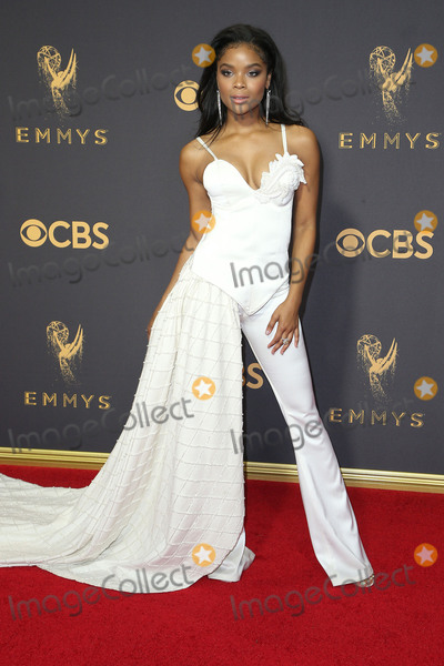 Ajiona Alexus Photo - 17 September 2017 - Los Angeles California - Ajiona Alexus 69th Annual Primetime Emmy Awards held at Microsoft Theater Photo Credit F SadouAdMedia