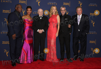 Alex Kurtzman Photo - 08 September 2018 - Los Angeles California - LeVar Burton Sonequa Martin-Green Walter Koenig Jeri Ryan Alex Kurtzman William Shatner 2018 Creative Arts Emmys Awards held at Microsoft Theater Photo Credit F SadouAdMedia
